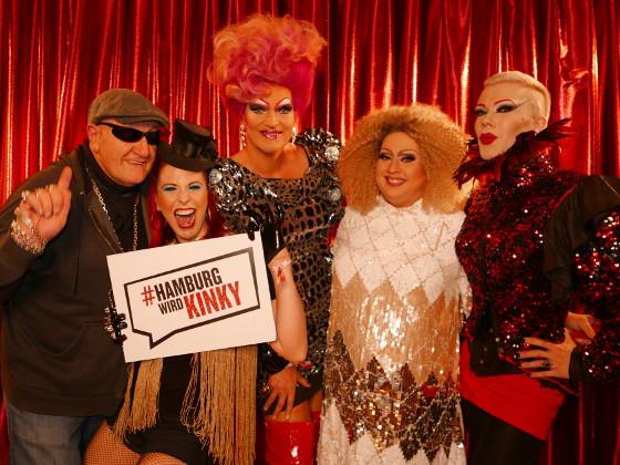 Kinky Boots Musical Hamburg wird Kinky Olivia Jones & Familie